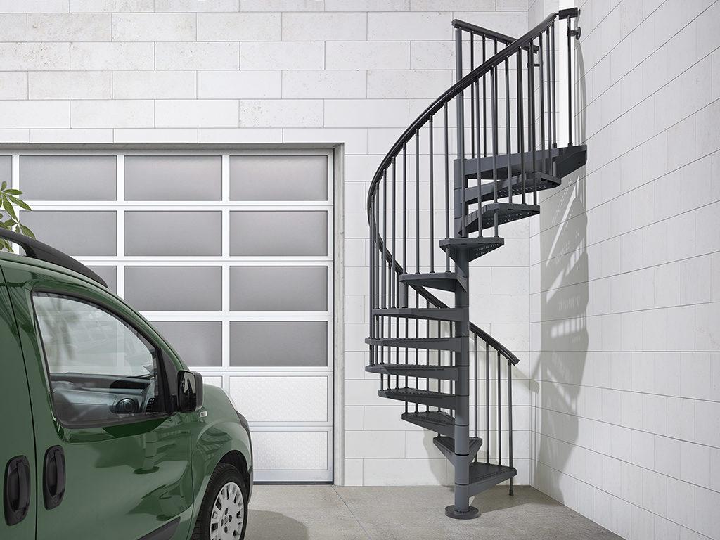 External Spiral Staircase SKY 030